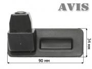 SKODA FABIA/ OCTAVIA/ ROOMSTER/ SUPERB/ YETI, интегрированная с ручкой багажника