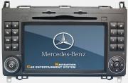 Штатная мультимедиа магнитола MERCEDES BENZ B200 / W169 / W245 / VITO II / VIANO / SPRINTER