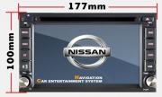NISSAN 2 DIN DVD