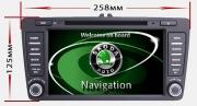 Штатная мультимедиа магнитола OCTAVIA A5 (2004-2013) / YETI